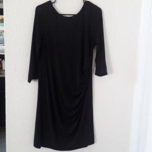 Chicos black dress